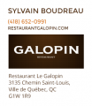 Restaurant Galopin