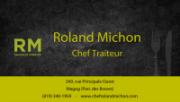 logo Roland Michon Chef Traiteur